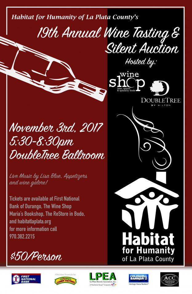 19th Annual Wine Tasting & Silent Auction