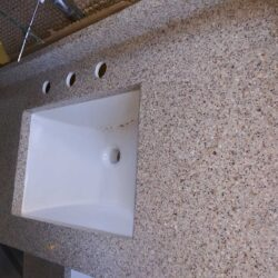 countertop bathroom sink