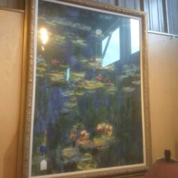 Monet lilypad painting