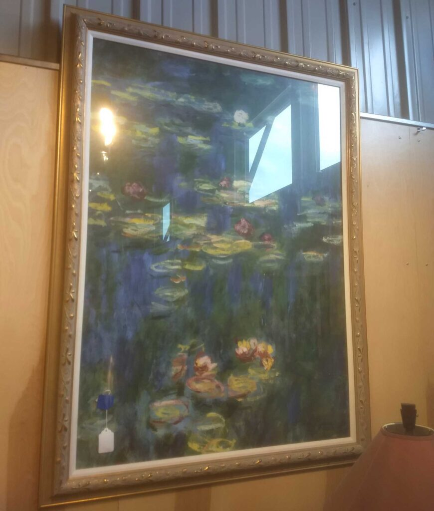 Monet lilypad painting