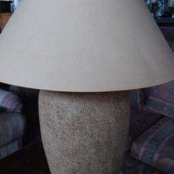 Table Lamp - Tan