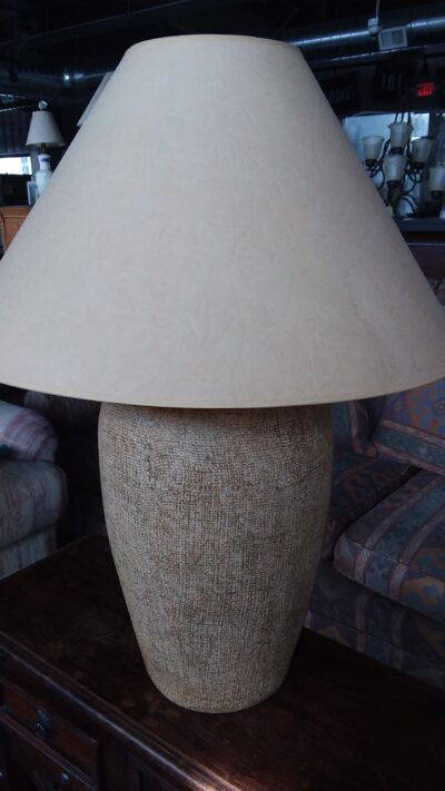 Table Lamp - Tan