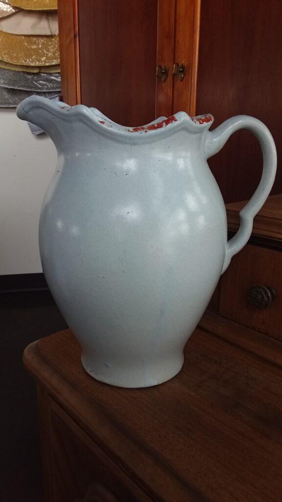 White Pitcher Vase