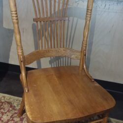 Wooden chairs set of 2