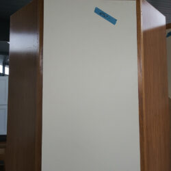 Corner Cabinet with contrast door