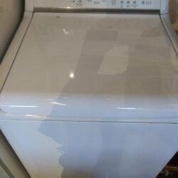 GE Elite Top Load Washer, White