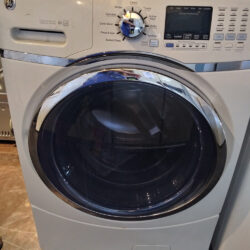 GE Front Load Washer, White