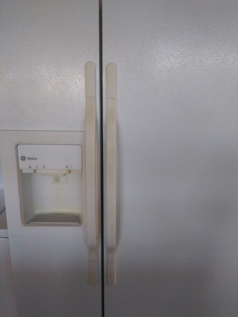 GE Select Side by Side Fridge White