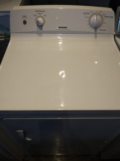 Hotpoint Top Load Gas Dryer