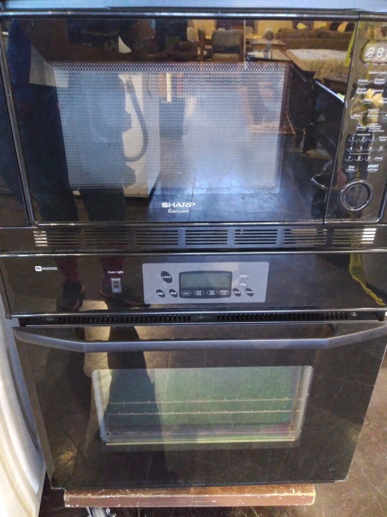 Maytag Oven Sharp Microwave Wall Unit, Black